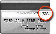 Mastercard CVV location